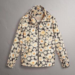 Burberry Fullerton Daisy Windbreaker Hooded Jacket